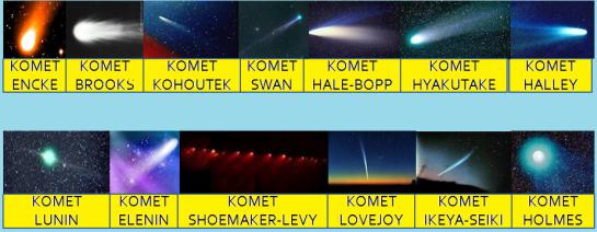 """Nama-nama Komet"
