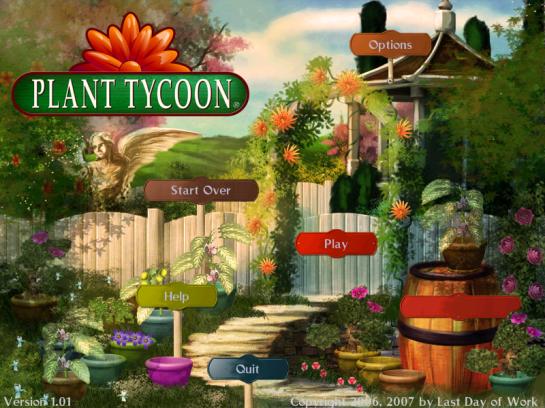 Plant Tycoon Main Menu