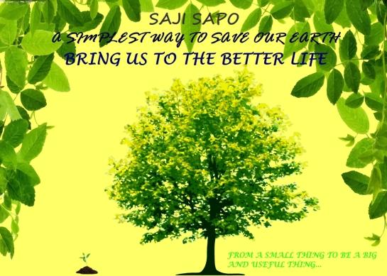 Poster Saji Sapo (Satu Jiwa Satu Pohon)